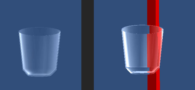 Examples of glass shader